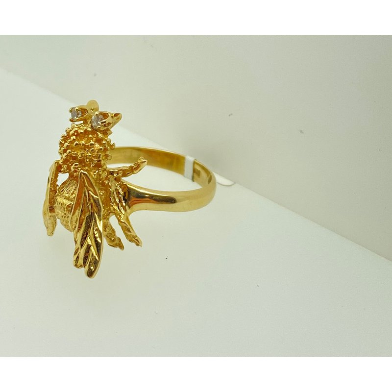 """Jewelry Couture Exclusives """"Bee Who You Are"""" Ring"""