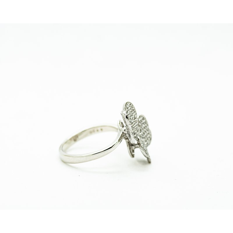 Jewelry Couture Exclusives Twin Butterfly Diamond Ring