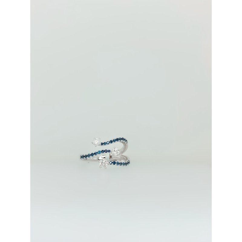 Jewelry Couture Exclusives Sapphire and Diamond Fashion Ring