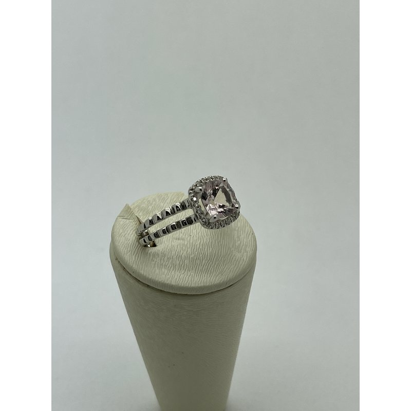 Jewelry Couture Exclusives Morganite White Gold Ring