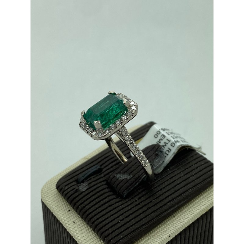 Jewelry Couture Exclusives 3.65CT Emerald Ring