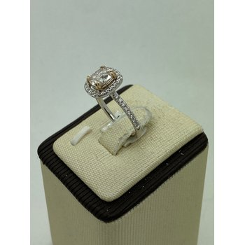 1.28ct Natural Color Diamond Engagement Ring