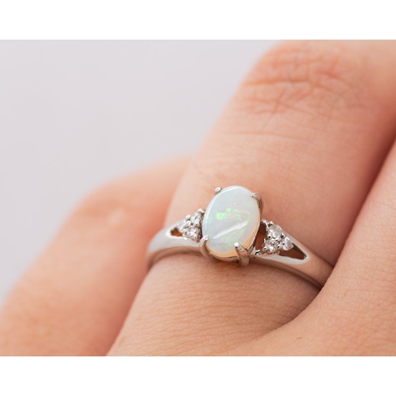 Jewelry Couture Exclusives October Birthstone Diamond Accent Ring