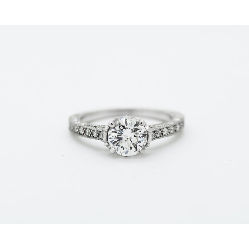 Jewelry Couture Exclusives Tulip Set 18k Engagement Ring