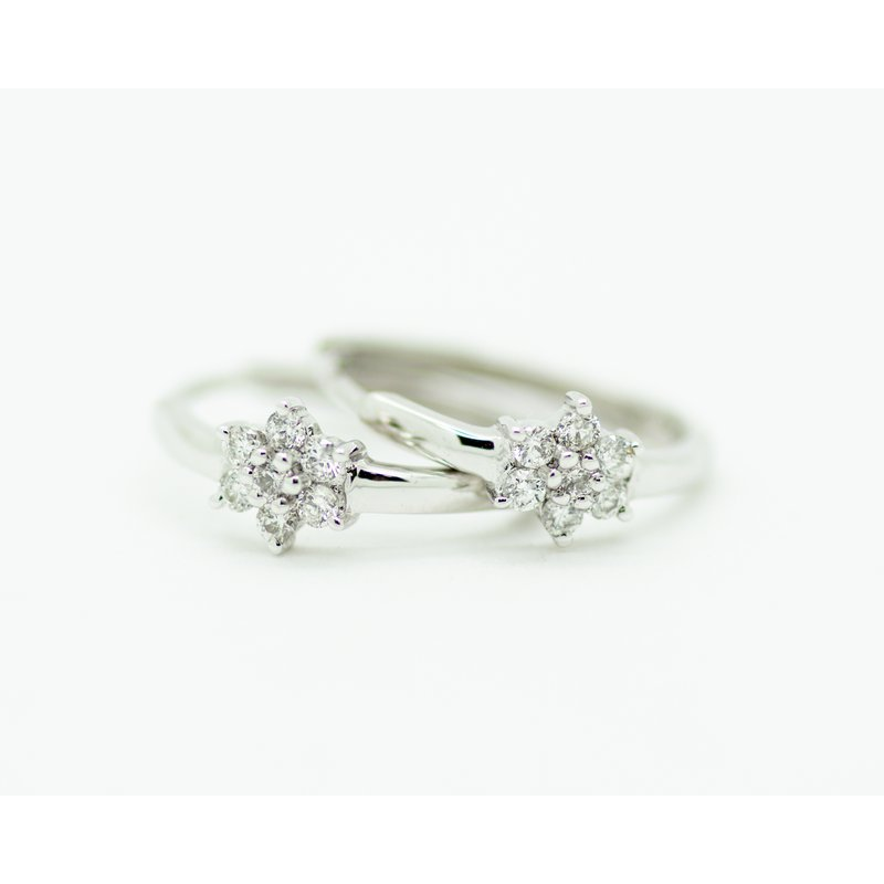 Jewelry Couture Exclusives Starlight Diamond Mini Hoops