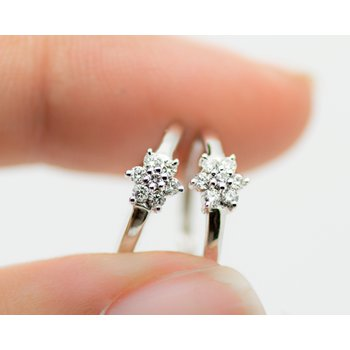 Starlight Diamond Mini Hoops