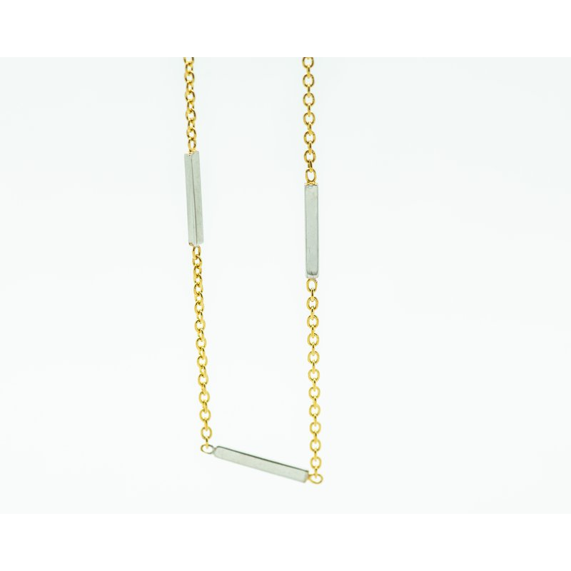"""Jewelry Couture Exclusives 24"""" Two Tone 14k Gold Layer Chain"""