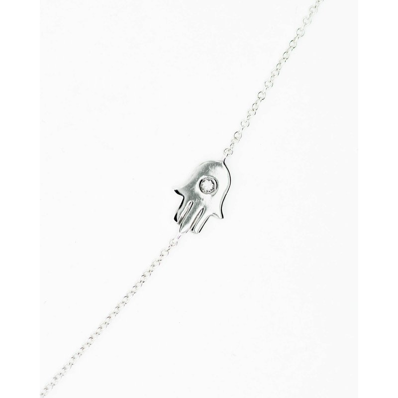 Jewelry Couture Exclusives White Gold Hamsa Bracelet