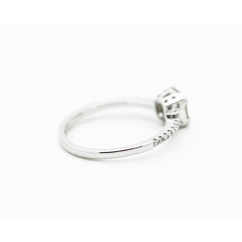 Jewelry Couture Exclusives Geometric Diamond Engagement Ring