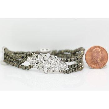 Spinel Bead Bracelet