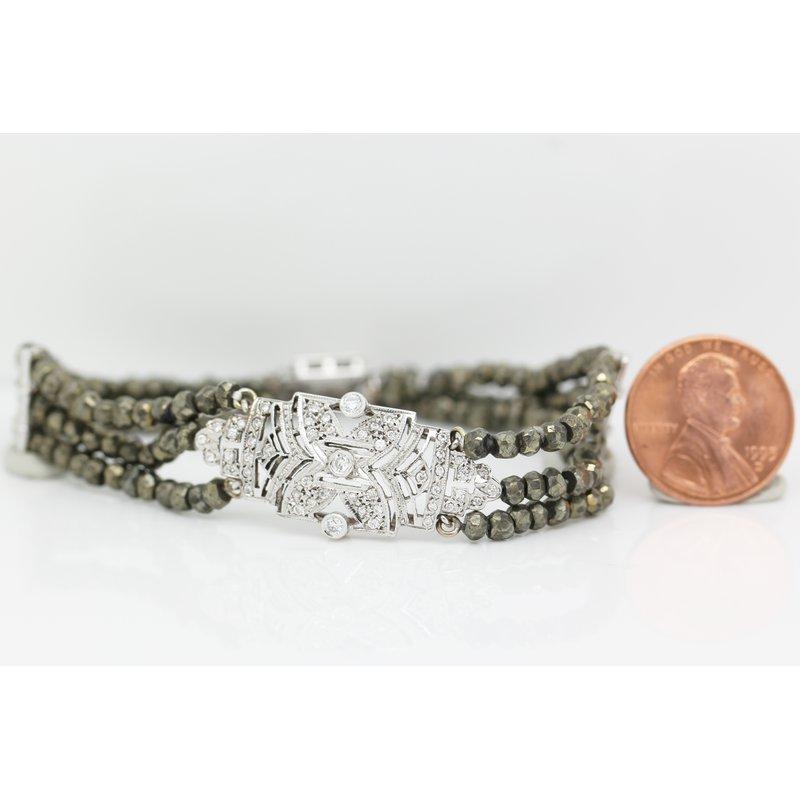 Estate Jewelry Spinel Bead Bracelet