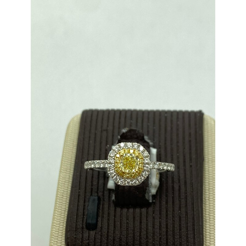Jewelry Couture Exclusives Yellow Diamond Engagement Ring
