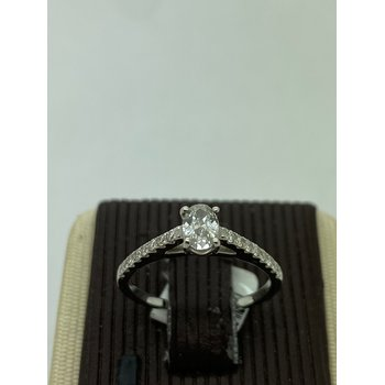 .32CT Oval Engagement Ring
