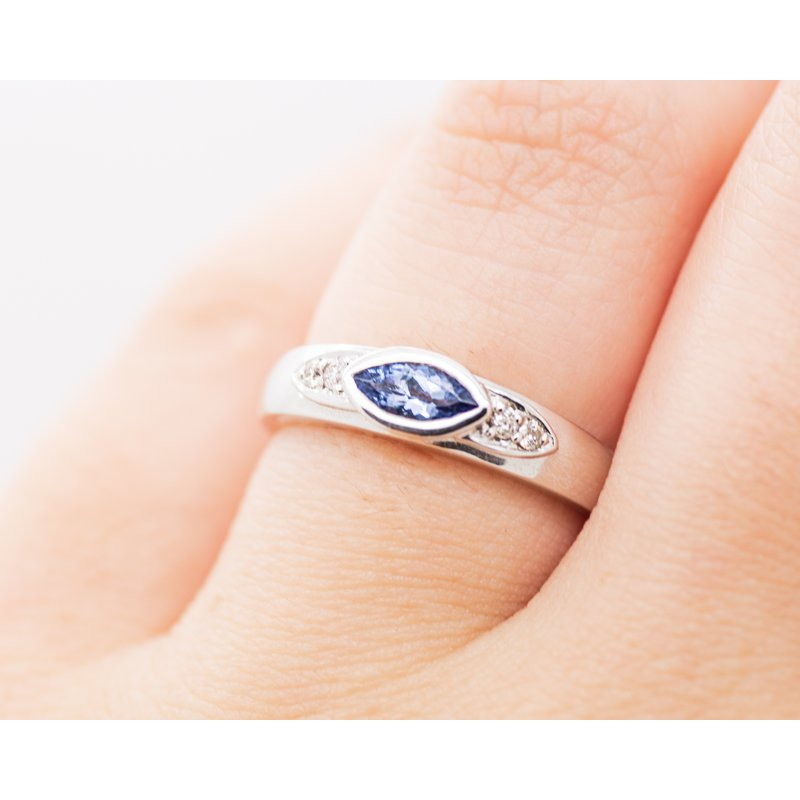 Jewelry Couture Exclusives Marquise Tanzanite Band