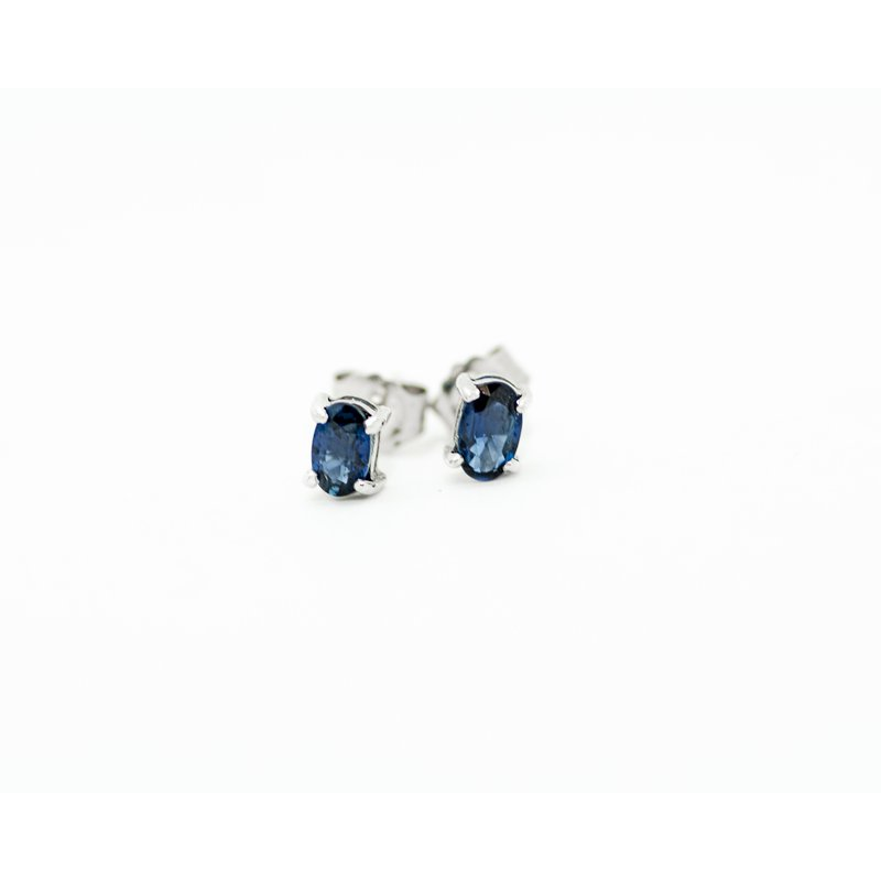 Jewelry Couture Exclusives Oval Sapphire Studs