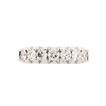 Show-Stopping White Gold Band