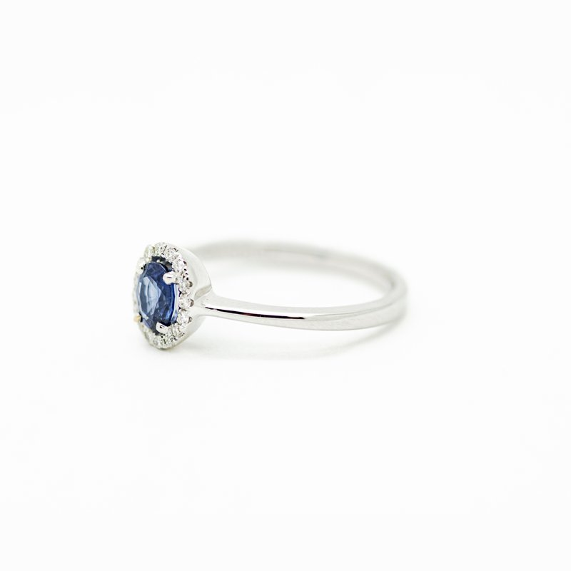 Jewelry Couture Exclusives Virgo Sapphire and Diamond Birthstone Ring