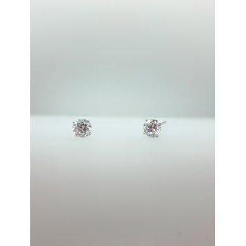 1.21ct Lab Grown Diamond Studs