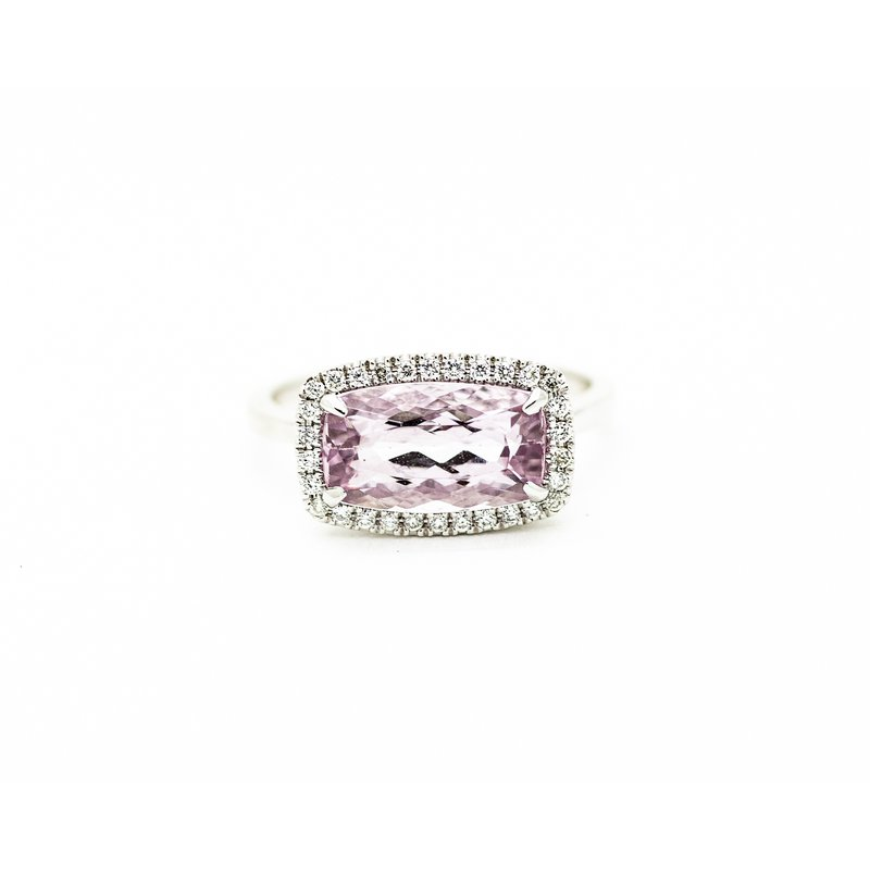Jewelry Couture Exclusives Pink Topaz Cocktail Ring