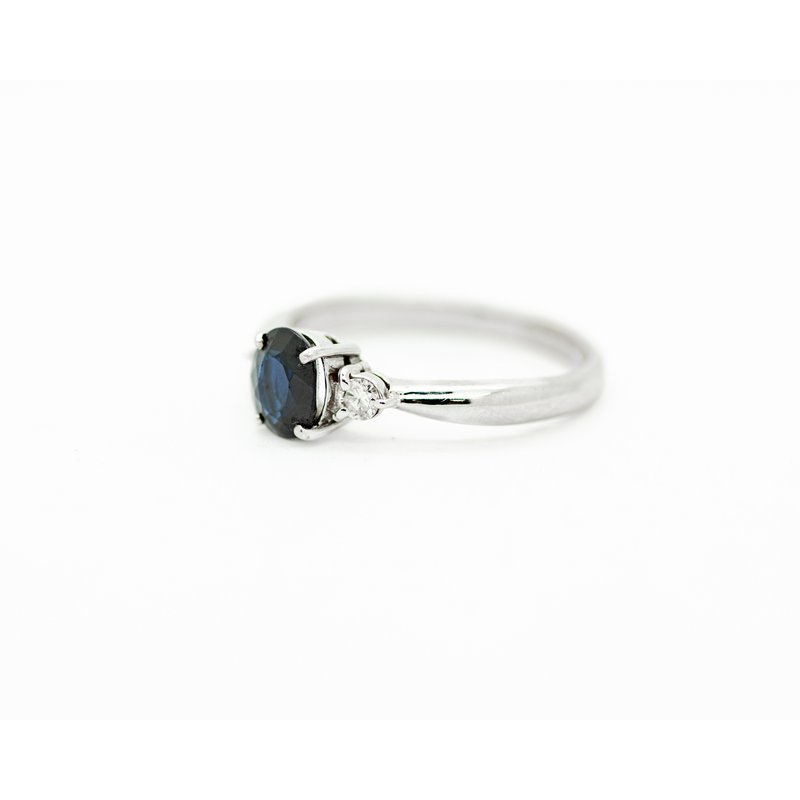 Jewelry Couture Exclusives Deep Blue Sapphire Birthstone Ring