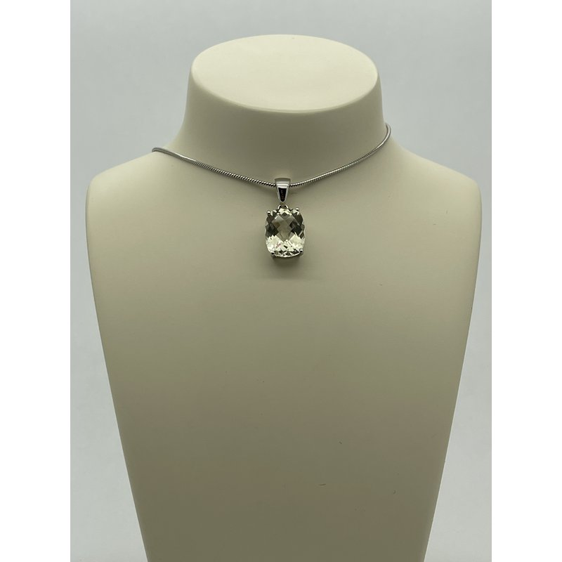 Jewelry Couture Exclusives Smoky Quartz Pendant on Silver Chain