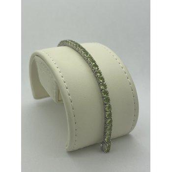 "7"" Peridot Bracelet"