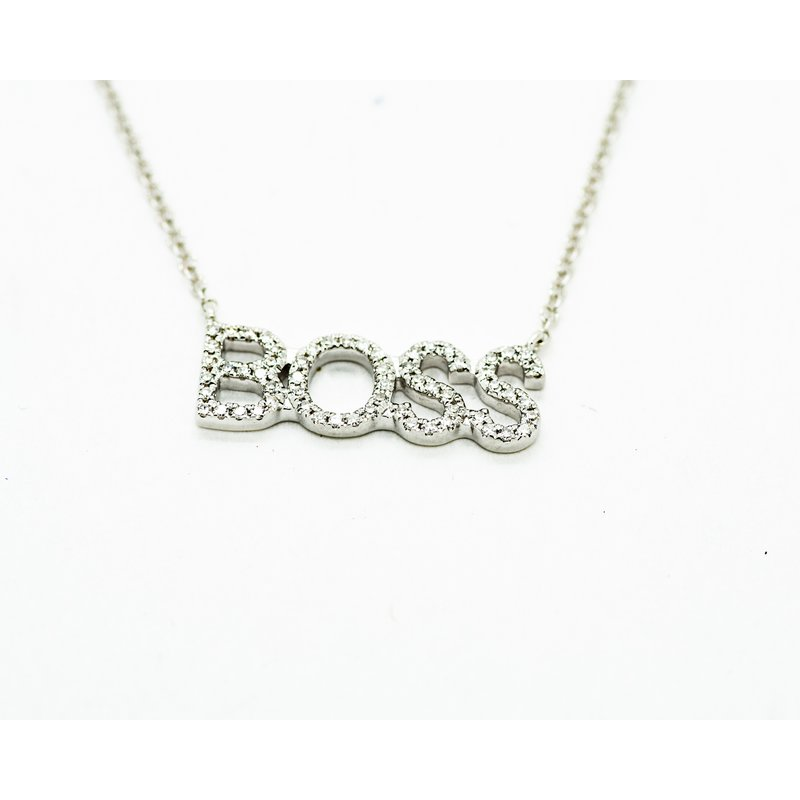 Jewelry Couture Exclusives BOSS Diamond Necklace