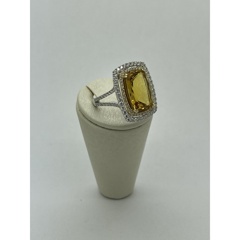Jewelry Couture Exclusives Topaz and Diamond Ring