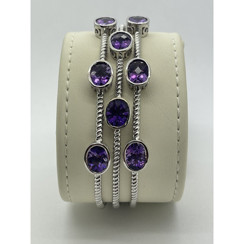 Jewelry Couture Exclusives Amethyst Bangle