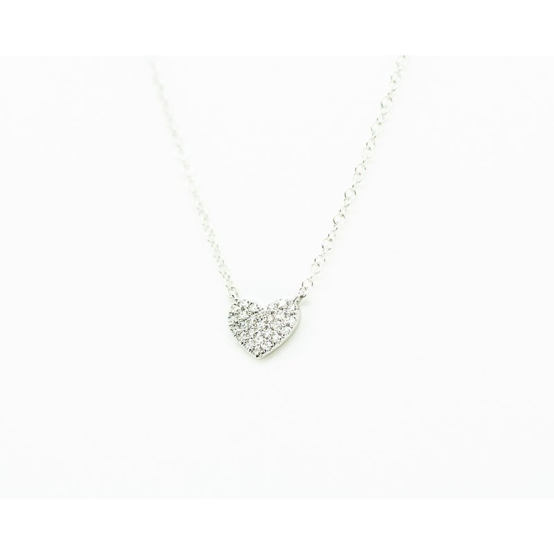 Jewelry Couture Exclusives Diamond Heart Necklace