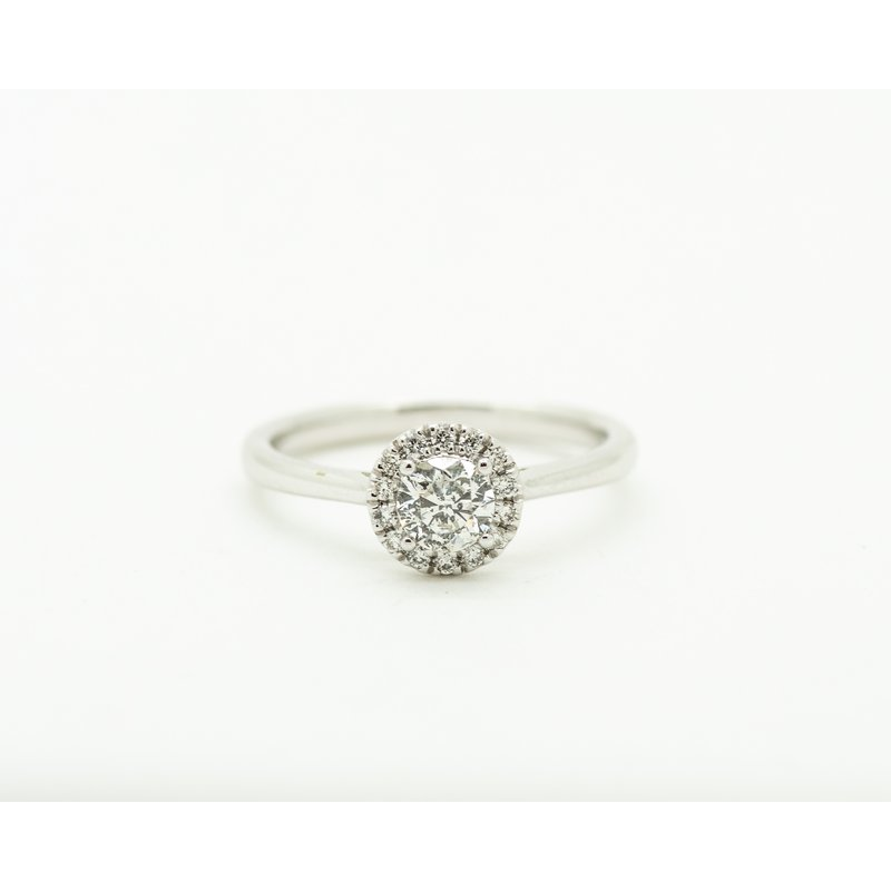 Jewelry Couture Exclusives 0.34ct Diamond Halo Engagement Ring