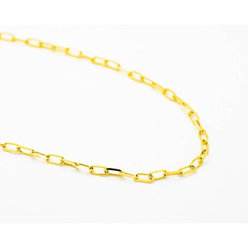 "14k Yellow Gold 18"" Belcher Chain"