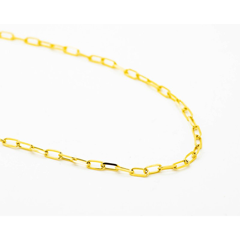 "Jewelry Couture Exclusives 14k Yellow Gold 18"" Belcher Chain"