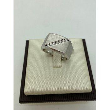 Diamond Stripe Men's Ring
