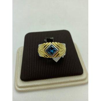 Blue Diamond Two-Tone Band