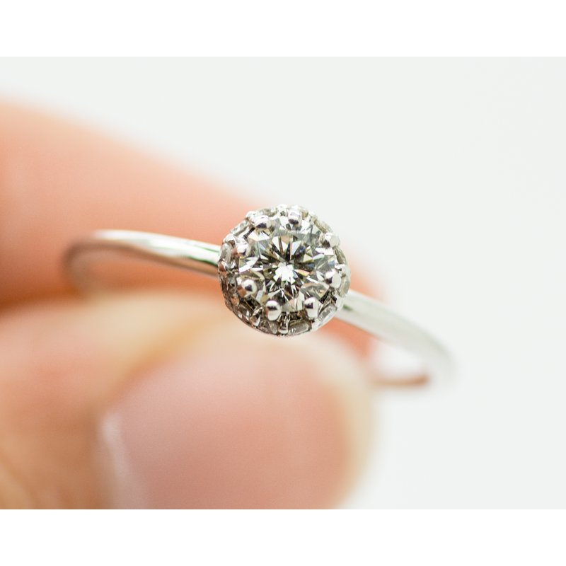 Jewelry Couture Exclusives Hidden Halo Engagement Ring