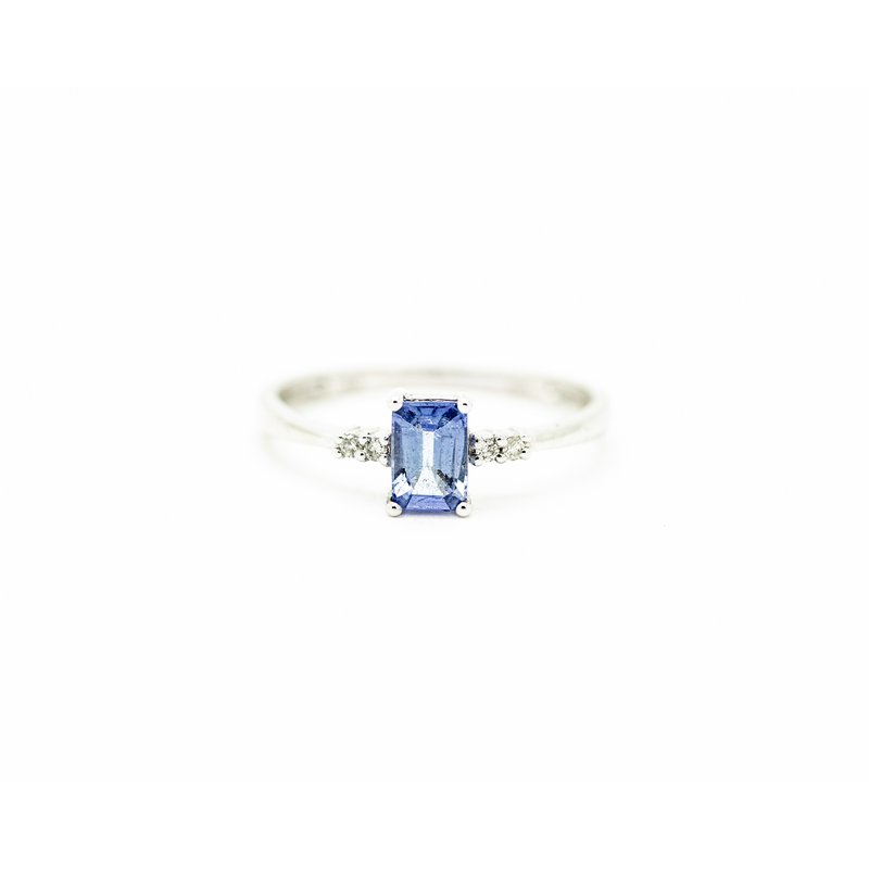 Jewelry Couture Exclusives Emerald Cut Tanzanite Ring