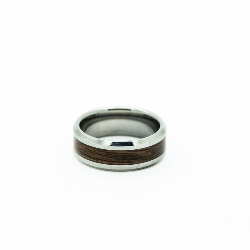 Jewelry Couture Exclusives Tungsten Wood-Inlay Men's Wedding Band
