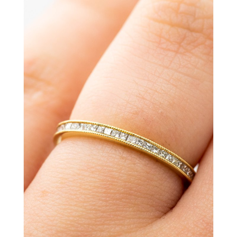Jewelry Couture Exclusives Channel Set Diamond Eternity Band