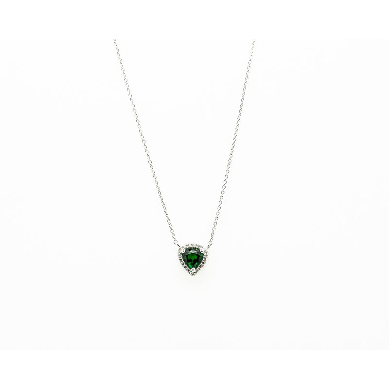 Jewelry Couture Exclusives Tsavorite and Diamond Necklace
