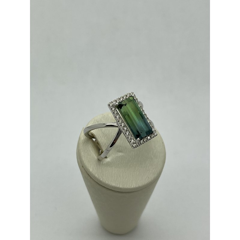 Jewelry Couture Exclusives Green Tourmaline Ring