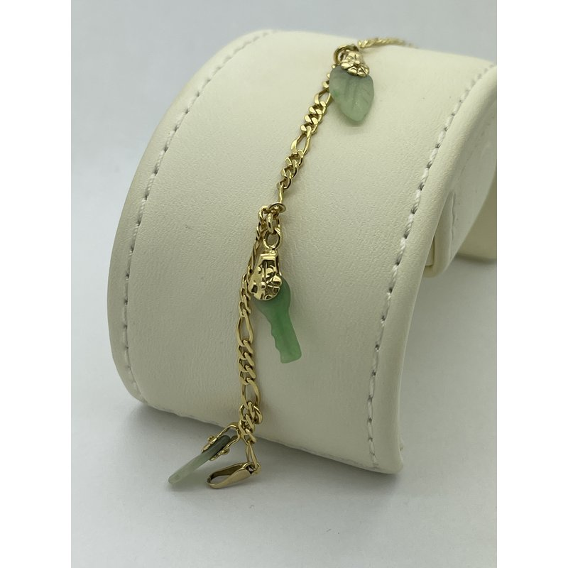 Jewelry Couture Exclusives Jade Charm Bracelet