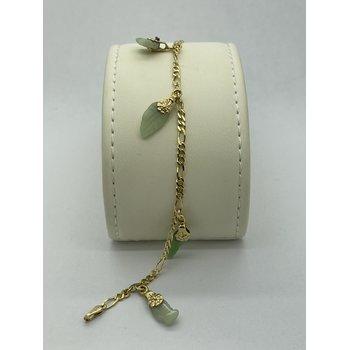 Jade Charm Bracelet