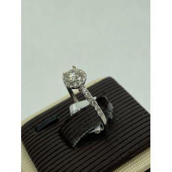 .33CT Diamond Art Engagement Ring