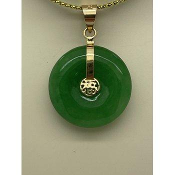 Circular Jade Pendant