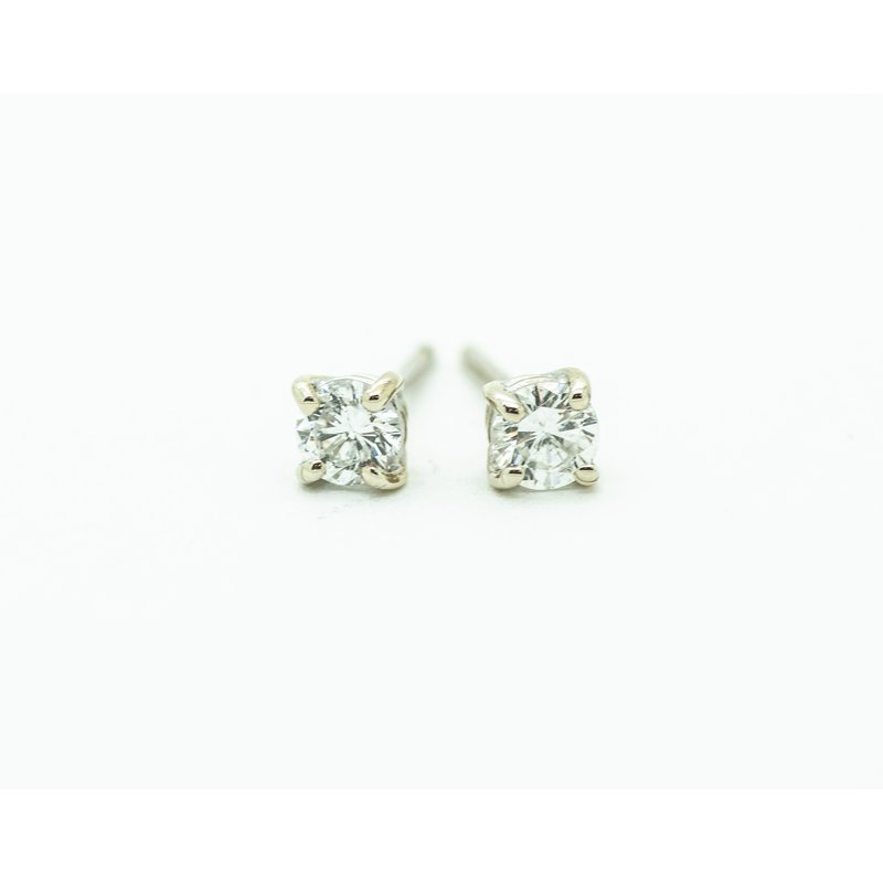 Jewelry Couture Exclusives 14k White Gold 0.31ct Diamond Studs