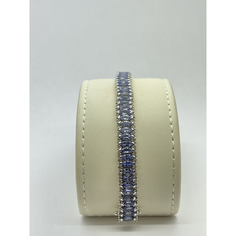 Jewelry Couture Exclusives Diamond and Tanzanite Bracelet