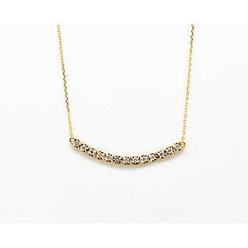 Dainty Diamond Layer Necklace