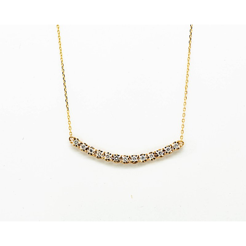 Jewelry Couture Exclusives Dainty Diamond Layer Necklace