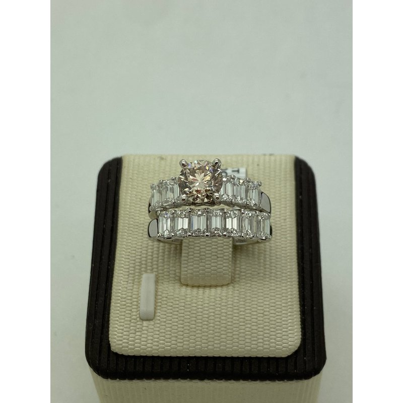 Jewelry Couture Exclusives Baguette Wedding Set